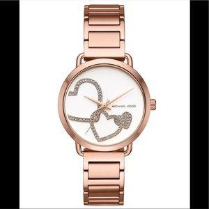 Michael Kors MK3825 Portia Rose Gold Tone Watch